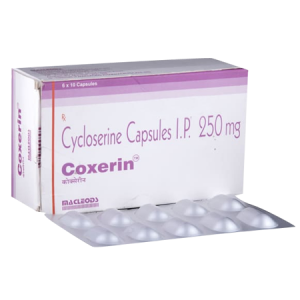Coxerin 250mg Tablet 60'S