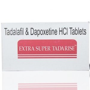 Extra Super Tadarise ED+PE Double Effect Tablet 100'S
