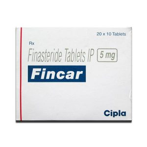 Fincar 5mg Tablet 200'S