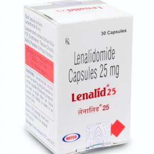 Lenalid 25mg Capsule 30'S