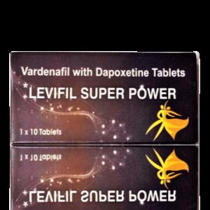 Levifil Super Power ED+PE Double Effect Tablet 10'S