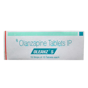 Oleanz 5 Tablet 100'S