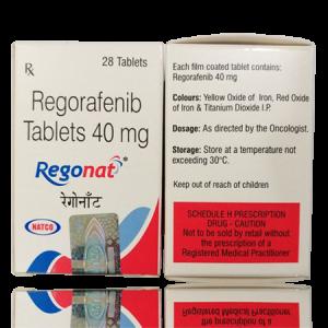 REGONAT 40mg Tablet 28'S