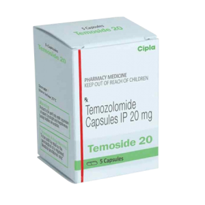 Temoside 20mg Capsule 5'S