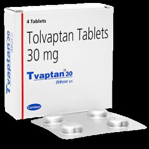 Tvaptan 30mg Tablet 4'S