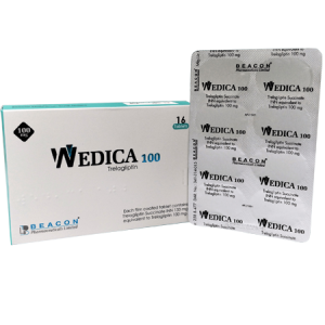 Wedica 100mg Tablet 16'S