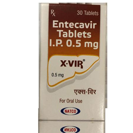 X Vir 0.5mg Tablet 30'S