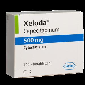 Xeloda 500mg Tablet 120'S