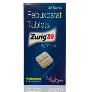 Zurig 80mg Tablet 30'S