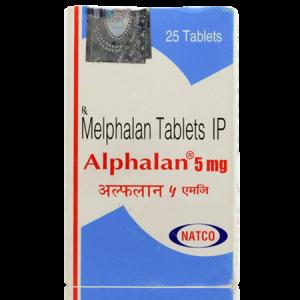 Alphalan 5mg Tablet 25'S