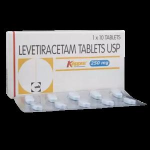 Keppra 250mg Tablet 10'S