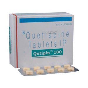Qutipin 100mg Tablet 100'S