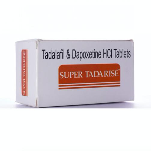 Super Tadarise ED+PE Double Effect Tablet 100'S