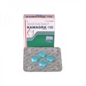 Kamagra Gold 100mg Tablet 4'S