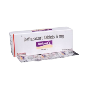 Defcort 6mg Tablet 100'S