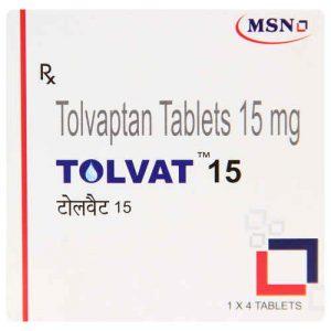 Tolvat 15mg Tablet 4'S